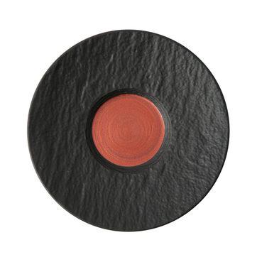Villeroy & Boch - Manufacture Rock Glow - spodek do filiżanki do kawy z mlekiem - średnica: 17 cm