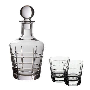 Villeroy & Boch - Ardmore Club - zestaw do whiskey - 3 elementy