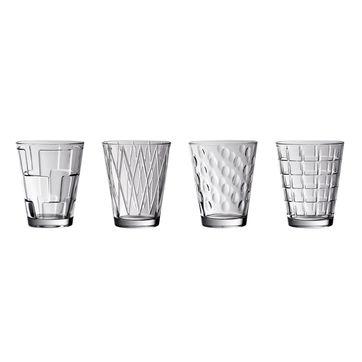 Villeroy & Boch - Dressed Up - zestaw 4 szklanek - pojemność: 0,31 l