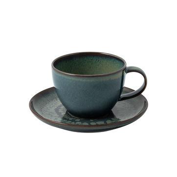 Villeroy & Boch - Crafted Breeze - filiżanka do kawy ze spodkiem - pojemność: 0,25 l