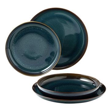Villeroy & Boch - Crafted Denim - zestaw obiadowy - 4 elementy; dla 2 osób