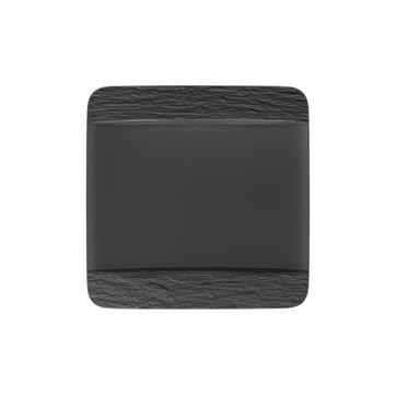 Villeroy & Boch - Manufacture Rock - kwadratowy talerz płaski - wymiary: 28 x 28 cm