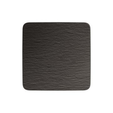 Villeroy & Boch - Manufacture Rock - kwadratowy talerz do serwowania - wymiary: 32,5 x 32,5 cm