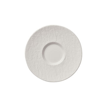Villeroy & Boch - Manufacture Rock blanc - spodek do filiżanki do kawy - średnica: 15,5 cm