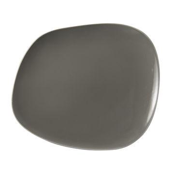 Villeroy & Boch - Organic Taupe - talerz płaski - wymiary: 30 x 24 cm