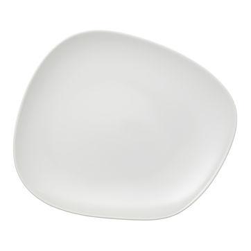 Villeroy & Boch - Organic White - talerz płaski - wymiary: 30 x 24 cm