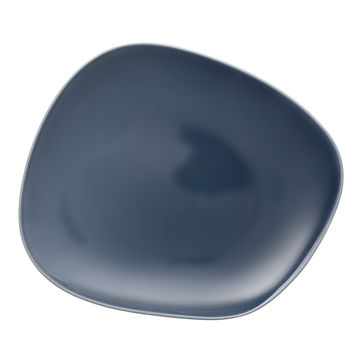 Villeroy & Boch - Organic Turquoise - talerz płaski - wymiary: 30 x 24 cm