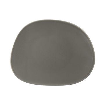 Villeroy & Boch - Organic Taupe - talerz sałatkowy - wymiary: 21 x 17 cm