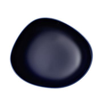 Villeroy & Boch - Organic Dark Blue - talerz głęboki - wymiary: 20 x 18 cm