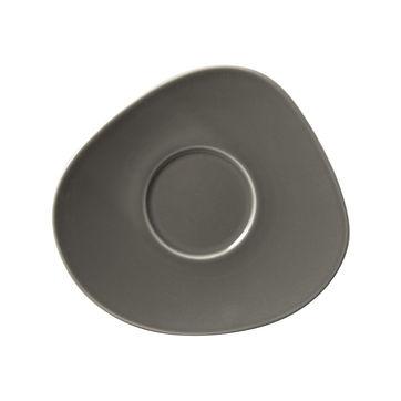 Villeroy & Boch - Organic Taupe - spodek do filiżanki do kawy - wymiary: 17,5 x 16 cm