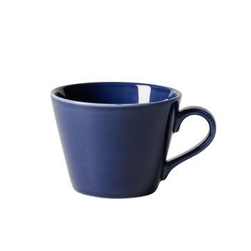 Villeroy & Boch - Organic Dark Blue - filiżanka do kawy - pojemność: 0,27 l