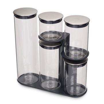 Joseph Joseph - Podium - zestaw pojemników kuchennych - 5 sztuk