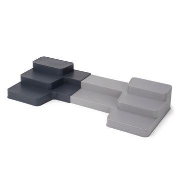 Joseph Joseph - CupboardStore - rozsuwany organizer - szerokość: od 42 do 61,5 cm