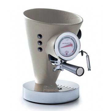 Bugatti - Diva - ekspres do kawy - pojemność: 0,8 l; pokryty skórą