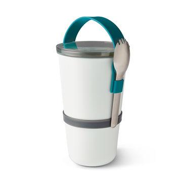 Black Blum - Lunch Pot Original - podwójny pojemnik na lunch - pojemność: 0,3 l + 0,6 l