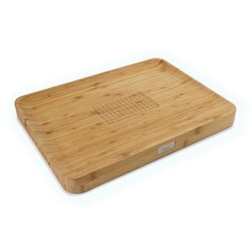 Joseph Joseph - Cut&Carve Bamboo - deska do krojenia - wymiary: 40 x 30 x 3,5 cm