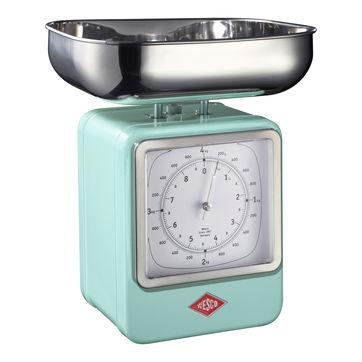 Wesco - waga kuchenna z zegarem - nośność: do 4 kg