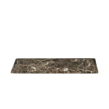 Blomus - Pesa - marmurowy talerz do serwowania - wymiary: 33 x 12 cm