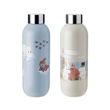 Stelton - Muminki - butelki na wodę - pojemność: 0,75 l