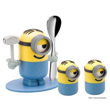 WMF - Minionki - zestaw do jajek dla dzieci - 3 elementy