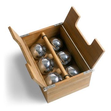 Skagerak - Akiko - zestaw do gry w bule - wymiary: 28 x 21 x 12 cm