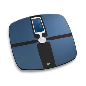 ADE - FITvigo - waga łazienkowa z analizą masy ciała i łącznością Bluetooth - wymiary: 32 x 33 cm