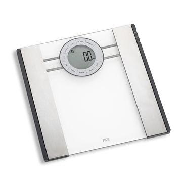 ADE - FITvigo - waga łazienkowa z analizą masy ciała i łącznością Bluetooth - wymiary: 31 x 31 cm
