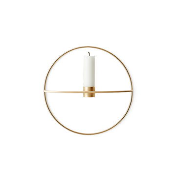 Menu - POV Circle - świecznik naścienny - średnica: 20 cm