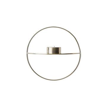 Menu - POV Circle - naścienny świecznik na tealight - średnica: 20 cm