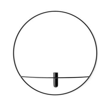 Menu - POV Circle - świecznik lub wazon naścienny - średnica: 44 cm