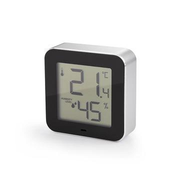Philippi - Simple - termometr pokojowy z higrometrem - wymiary: 7 x 2 x 7 cm