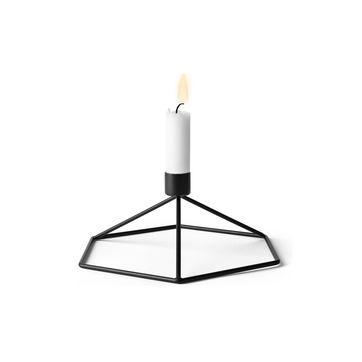 Menu - POV - świecznik - wymiary: 18,5 x 20 x 10,5 cm