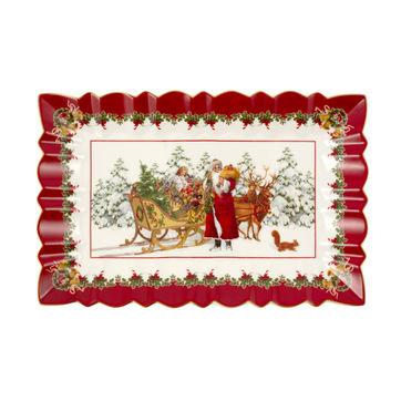 Villeroy & Boch - Toy's Fantasy - talerz na ciasto - wymiary: 35 x 23 cm
