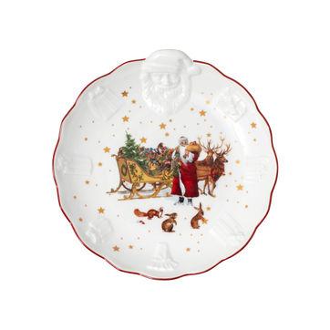 Villeroy & Boch - Toy's Fantasy - miska z reliefem - wymiary: 24 x 25 x 4,5 cm