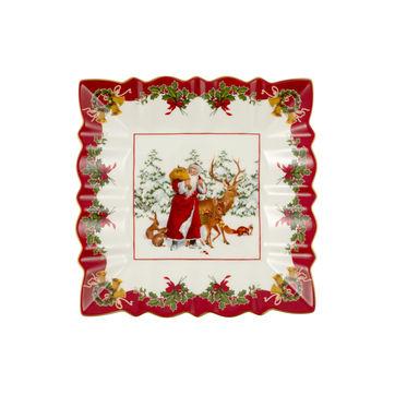 Villeroy & Boch - Toy's Fantasy - kwadratowa miska - wymiary: 23 x 23 cm