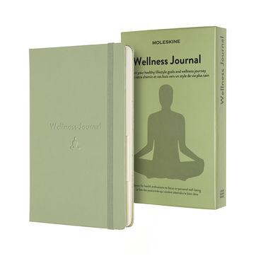 Moleskine - Wellness Journal - notatnik - zdrowie - wymiary: 13 x 21 cm; 400 stron