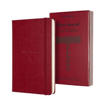 Moleskine - Wine Journal - notatnik - wino - wymiary: 13 x 21 cm; 400 stron
