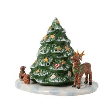 Villeroy & Boch - Christmas Toys - lampion - leśne zwierzęta - wymiary: 23 x 17 x 17 cm
