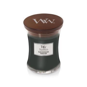 WoodWick - Black Peppercorn - świeca zapachowa - mocne przyprawy - czas palenia: do 65 godzin