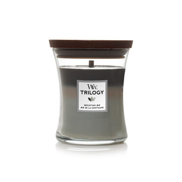 WoodWick - Mountain Air - potrójna świeca zapachowa - górskie powietrze - czas palenia: do 65 godzin