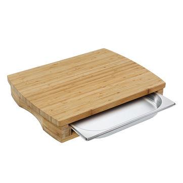 Zassenhaus - One - deska do krojenia z wysuwaną tacką - wymiary: 46 x 35 cm