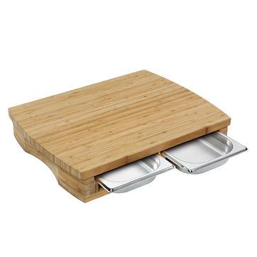 Zassenhaus - Two - deska do krojenia z 2 wysuwanymi tackami - wymiary: 46 x 35 cm