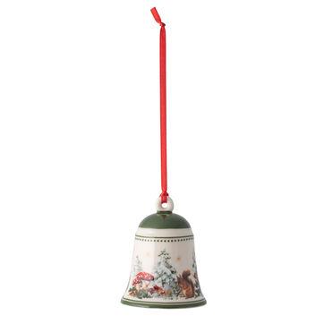 Villeroy & Boch - My Christmas Tree - dzwonek - wiewiórki - wysokość: 7 cm