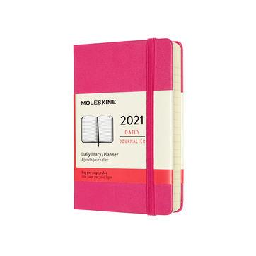Moleskine - Classic - kalendarz dzienny - 2021 - wymiary: 9 x 14 cm; twarda oprawa