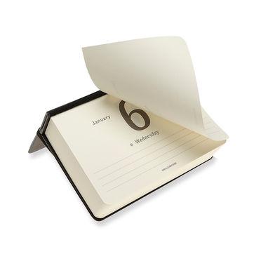 Moleskine - Classic - kalendarz dzienny na biurko - 2021 - wymiary: 9 x 14 cm; twarda oprawa
