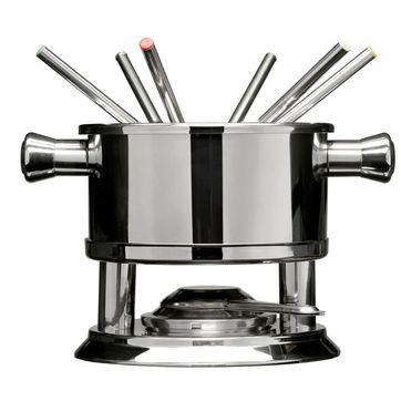 Sagaform - Bar - zestaw do fondue dla 6 osób - wysokość: 15,5 cm