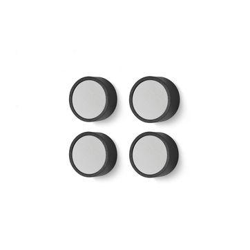 Zack - Monor - zestaw 4 magnesów - średnica: 2 cm