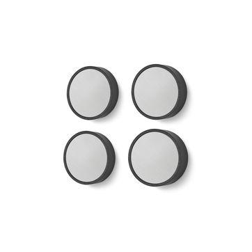 Zack - Monor - zestaw 4 magnesów - średnica: 3 cm