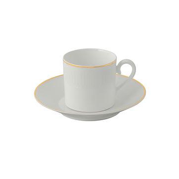 Villeroy & Boch - Château Septfontaines - filiżanka do kawy ze spodkiem - pojemność: 0,2 l