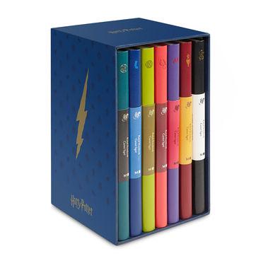 Moleskine - Harry Potter - zestaw 7 notatników - wymiary: 13 x 21 cm; w linie